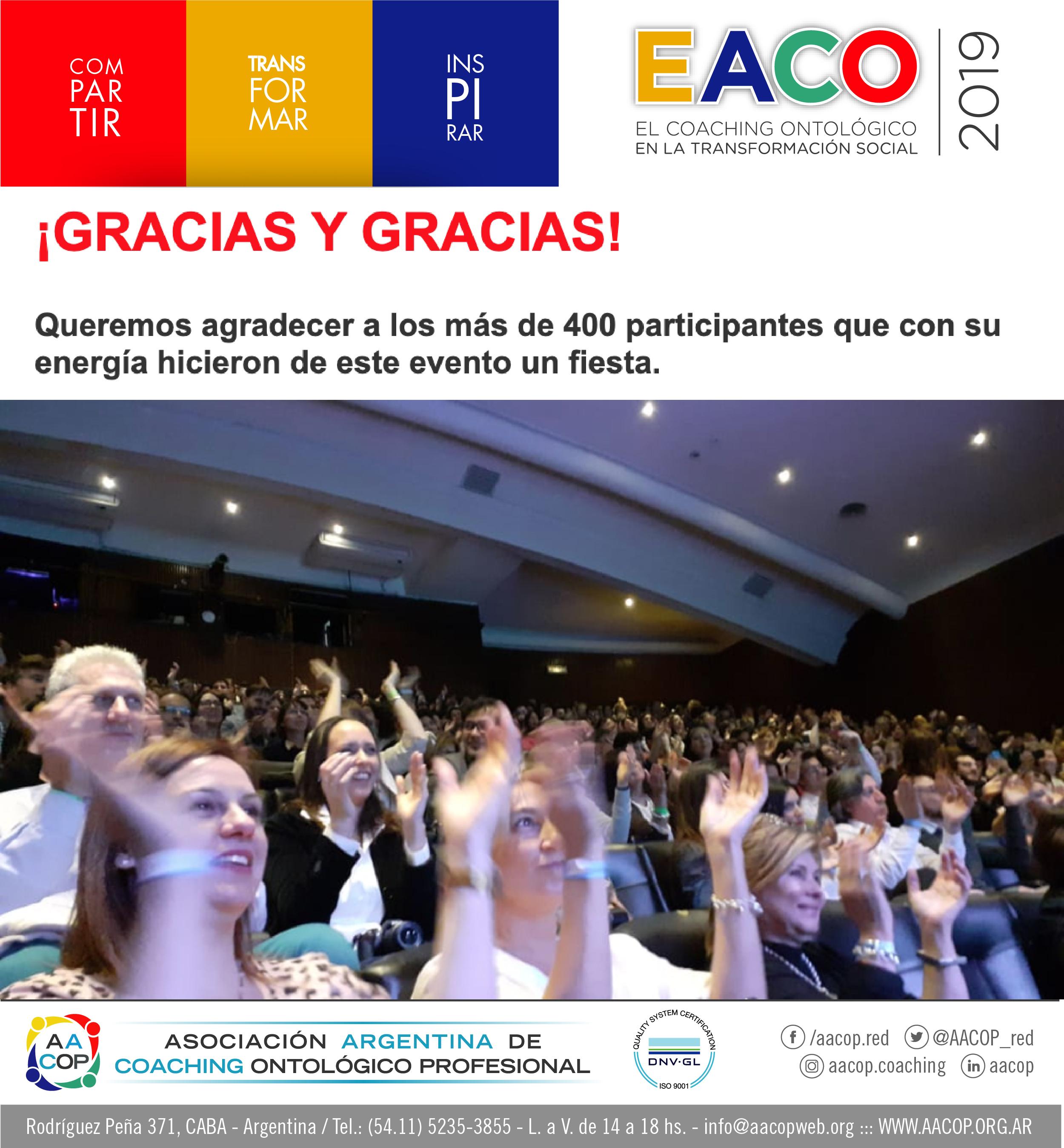 Felices de haber vivido un nuevo EACO | imagen