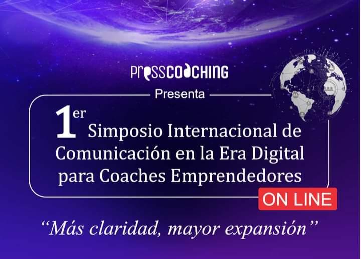 Mas claridad, mayor expansión. 1er Simposio Internacional de Comunicación en la era digital para Coaches Emprendedores declarado de interés profesional por la AACOP. | imagen